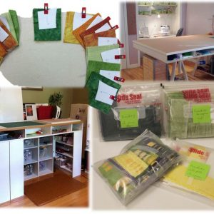 Step 2: organizing your work space