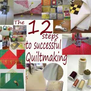 seminars classes quilting:12 steps