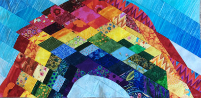 Working on a serie of quilt can help you improve your skills