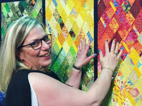 Claire Haillot quilt