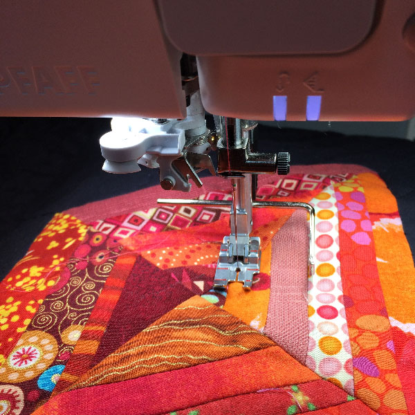 Machine quilting with PFAFF creative icon